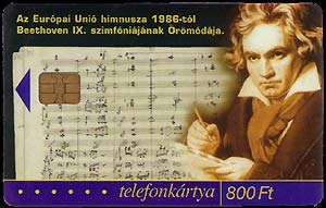 Card: Beethoven...