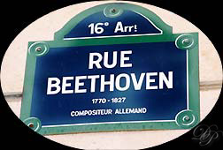 Rue Beethoven