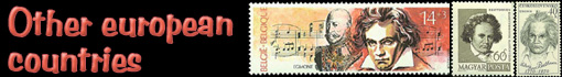 Ludwig van Beethoven: stamps and FDC from other countries